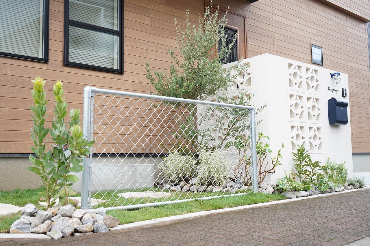ガーデン&エクステリア オリーブをメインツリーに
