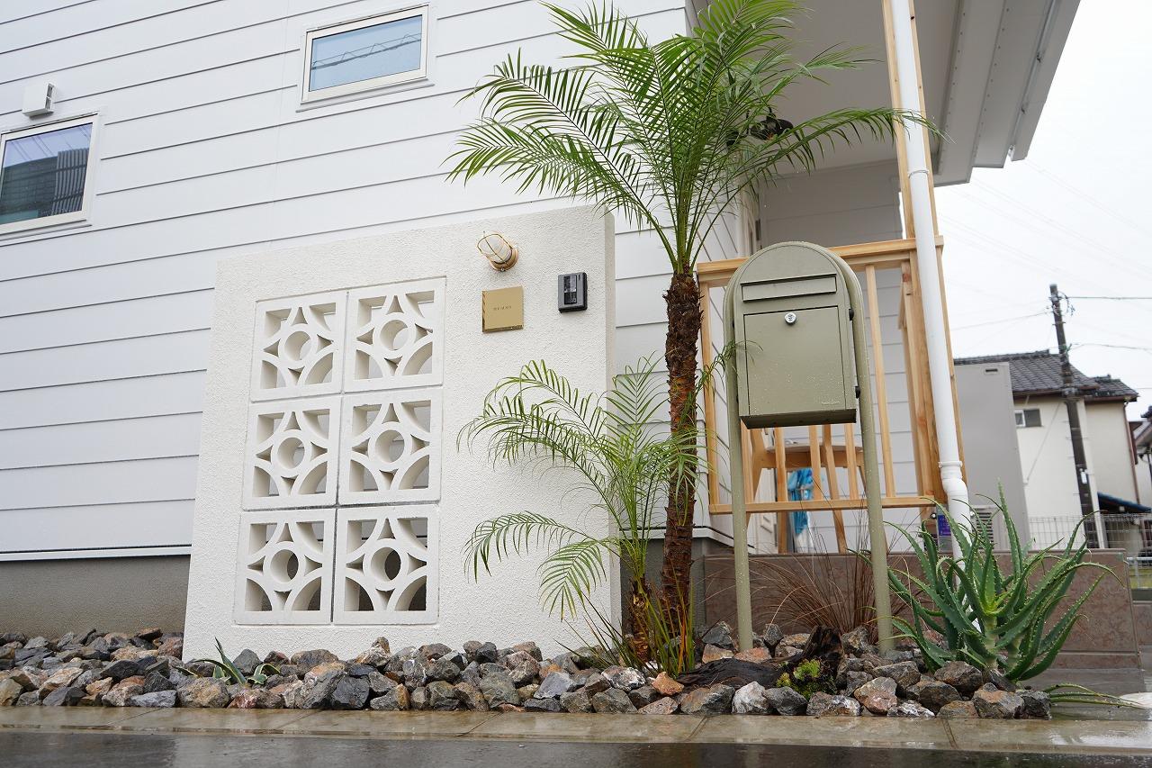 サーファーズハウス 植栽・外構